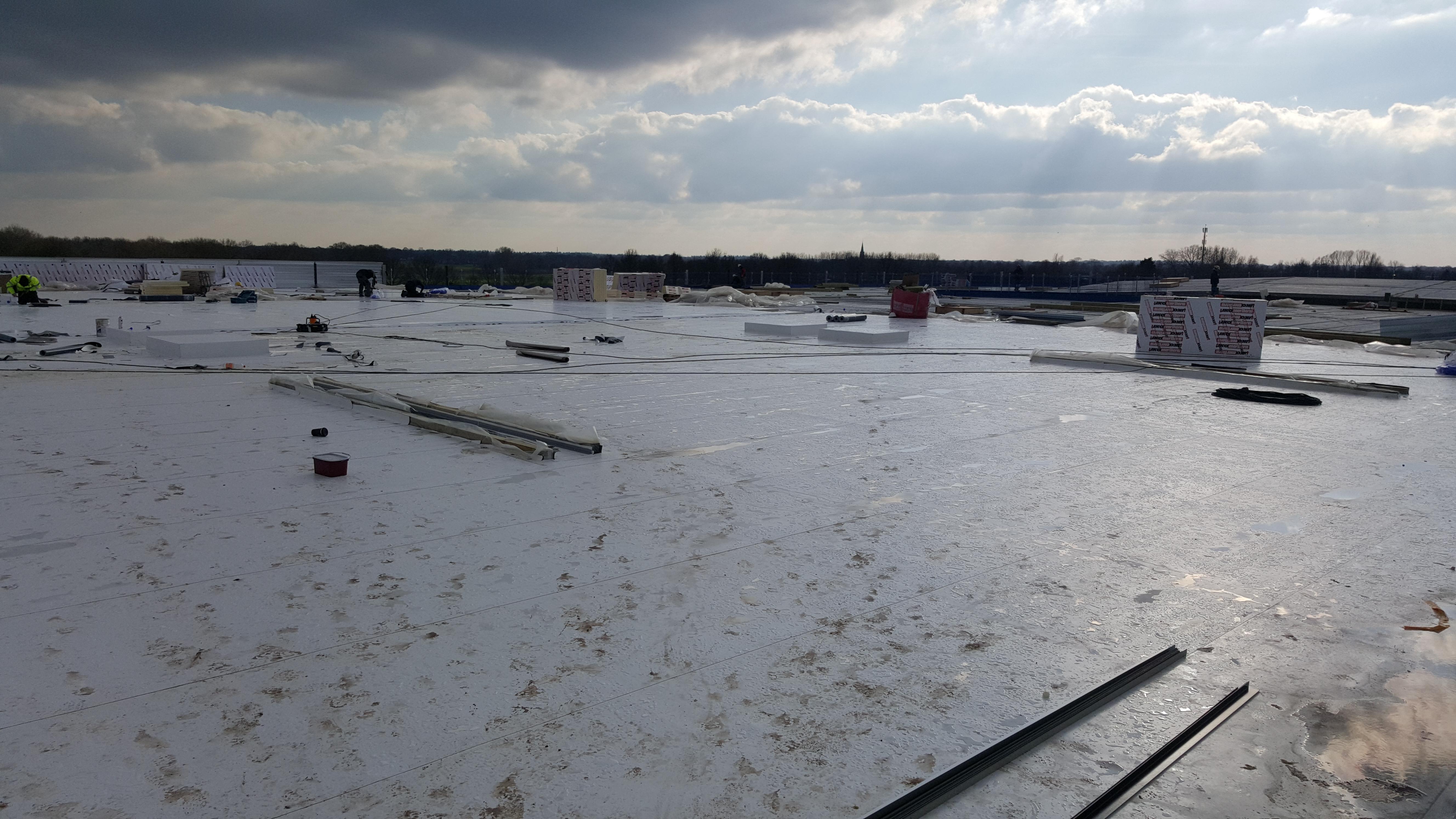 Nieuwbouw dak 7